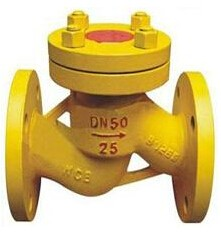 H41N lift type gas check valve