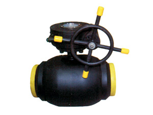 Full bore welded steel ball valves