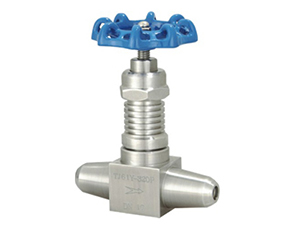 J61 welding type with heat sink needle valve