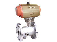 RBQ641F pneumatic heat preservation ball valve