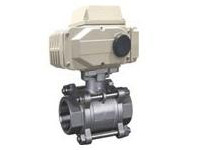3Q911F electric three chip internal thread ball valve