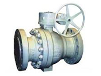 Q347Y metal hard sealed ball valve
